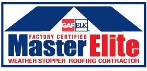 Master Elite Weatherstopper Roofing Contractor